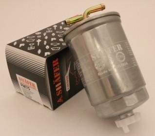 Фильтр топливный VW 1,6 / 1,9D / TD / TDI 87- (с подогревом)