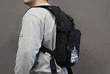 Тактический (городской) рюкзак Oxford 600D с системой M.O.L.L.E Black (303 черный) , фото 2