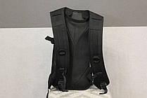 Тактический (городской) рюкзак Oxford 600D с системой M.O.L.L.E Black (303 черный) , фото 3