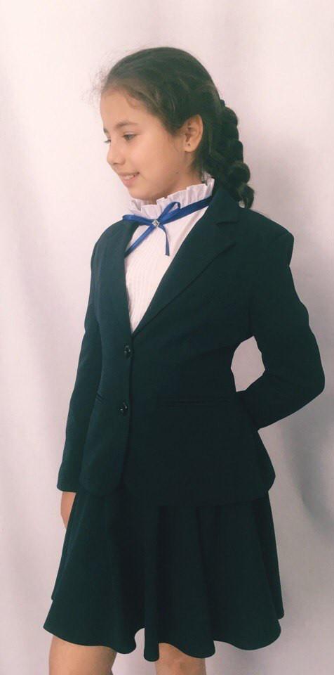 Пиджак на девочку в школу подросток Новинка