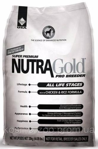 Сухой корм Нутра Голд ПроБридер (Nutra Gold ProBreeder) для собак всех пород, 20 кг