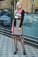 Платье вязаное Кубик, (8 цветов), вязанное платье, теплое платье, дропшиппинг украина, фото 1