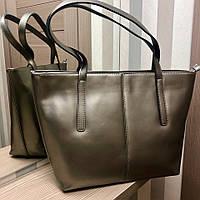 Женская, стильная сумка модной расцветки (вмещает формат А4)