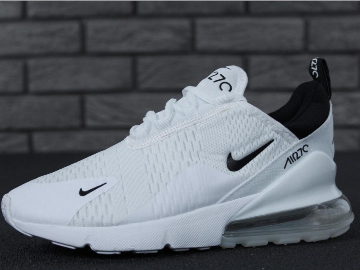 877e15bd Мужские кроссовки Nike Air Max 270 White, Найк Аир Макс 270 белые -  интернет-
