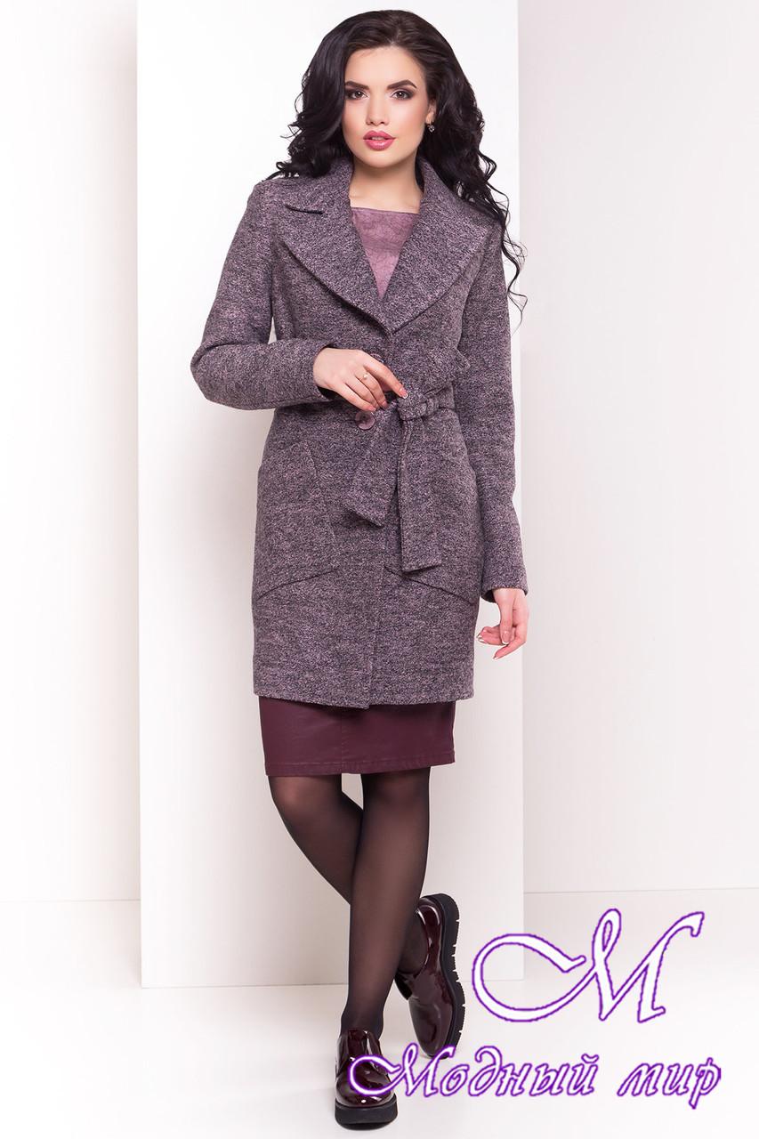 Женское шерстяное осеннее пальто (р. S, M, L) арт. Габриэлла 4419 - 33767