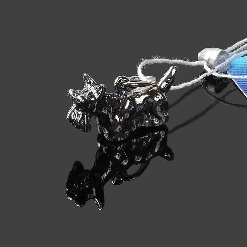 Подвес серебряный Собачка