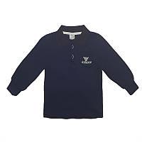Поло для мальчика 80-104(1-4 года ) Armani ,темно-синяя