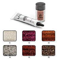 Набор Nyx Glitter + Primer, фото 1