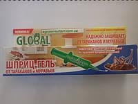 Гель от тараканов и муравьев 40 г. ГЛОБАЛ — гель шприц!, фото 1