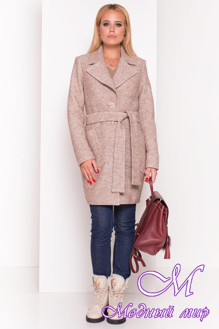 Женское осеннее пальто из шерсти (р. S, M, L) арт. Габриэлла 4419 - 36632