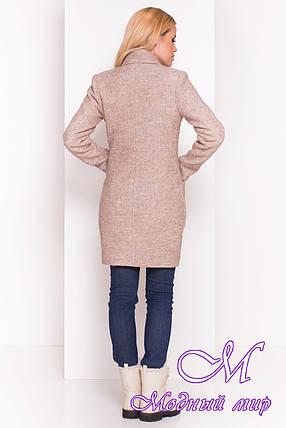 Женское осеннее пальто из шерсти (р. S, M, L) арт. Габриэлла 4419 - 36632, фото 2