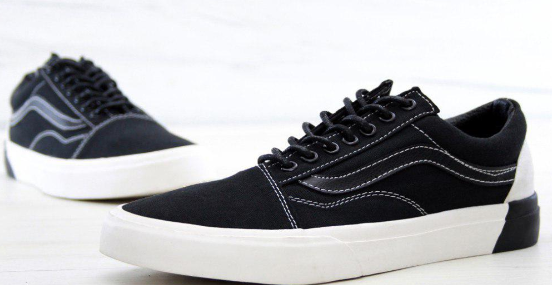 Кеды Vans Old Skool black, Ванс Олд Скул