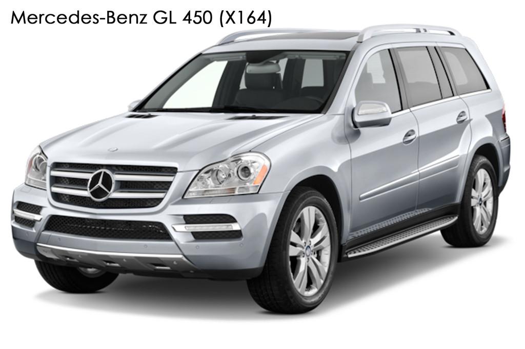 """Mercedes-Benz GL 450 (X164) - замена линз Hella AFS на биксеноновые линзы Hella 4 3.0"""" дюйма (⌀76мм) D2S/D4S"""