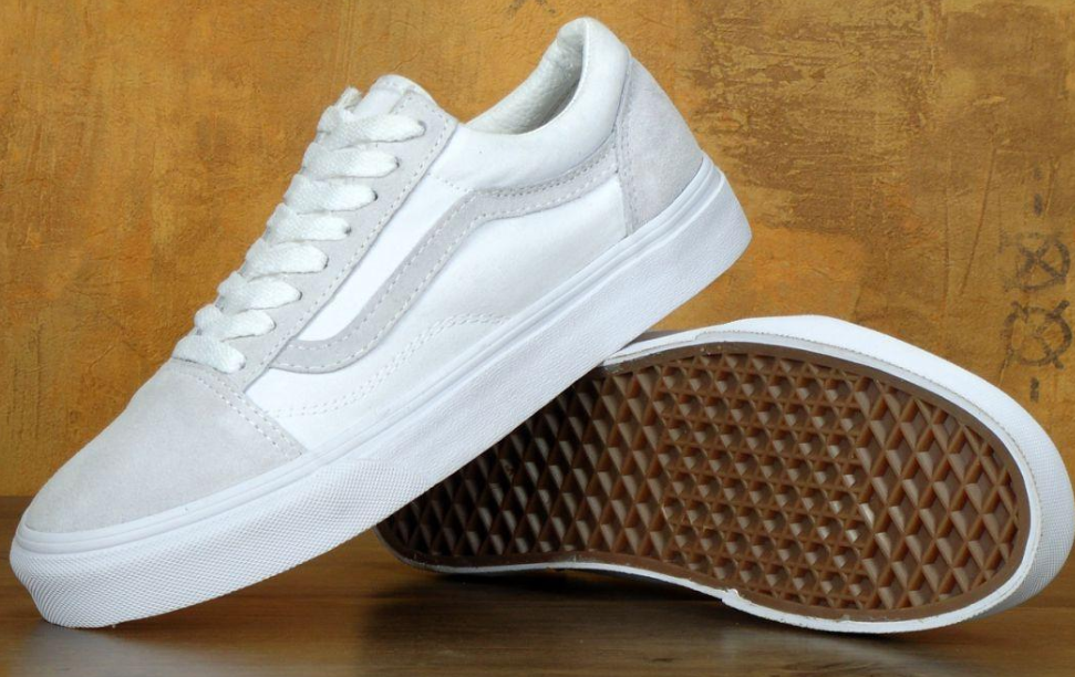 Кеды Vans Old Skool True White, Ванс Олд Скул Белые
