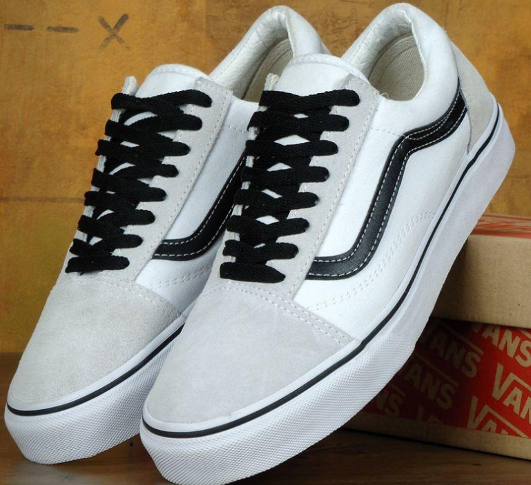 Кеды Vans Old Skool White, Ванс Олд Скул Белые