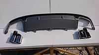 Диффузор заднего бампера Audi A7 S7 2016+