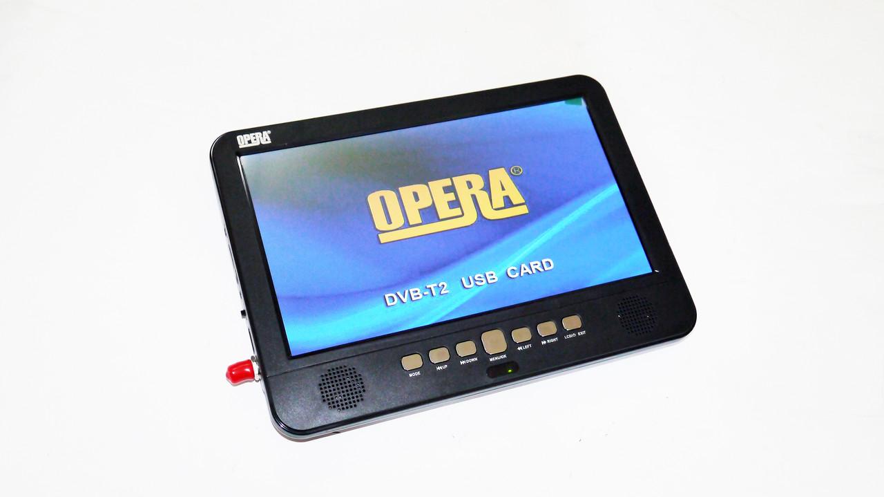 Портативный телевизор Opera 1002B 10 дюймов цифровое ТВ