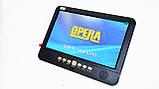 Портативный телевизор Opera 1002B 10 дюймов цифровое ТВ, фото 9