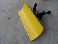 Лопата-отвал для очистки снега, земли для любых мотоблоков и квадрациклов, плавающая!