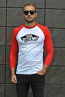 Мужская футболка с рукавом в стиле Vans