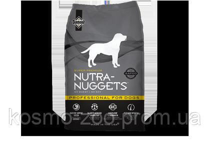 Сухой корм Нутра Наггетс Профешнл (Nutra Nuggets Professional) для служебных и кормящих собак, 15 кг