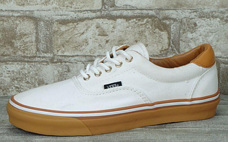 Кеды Vans Era C&L True White/Classic Gum, Ванс Эра Белые
