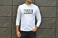 Мужская футболка джерси в стиле Марвел белая