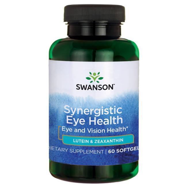 Swanson® Витамины с Лютеином и Зеаксантином, 60 капсул