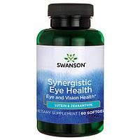 Swanson® Витамины с Лютеином и Зеаксантином, 60 капсул, фото 1