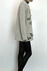 Жіночий шерстяний жакет, фото 2
