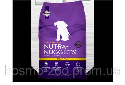 Сухой корм Нутра Наггетс Паппи (Nutra Naggets Puppy) для щенков, 15 кг