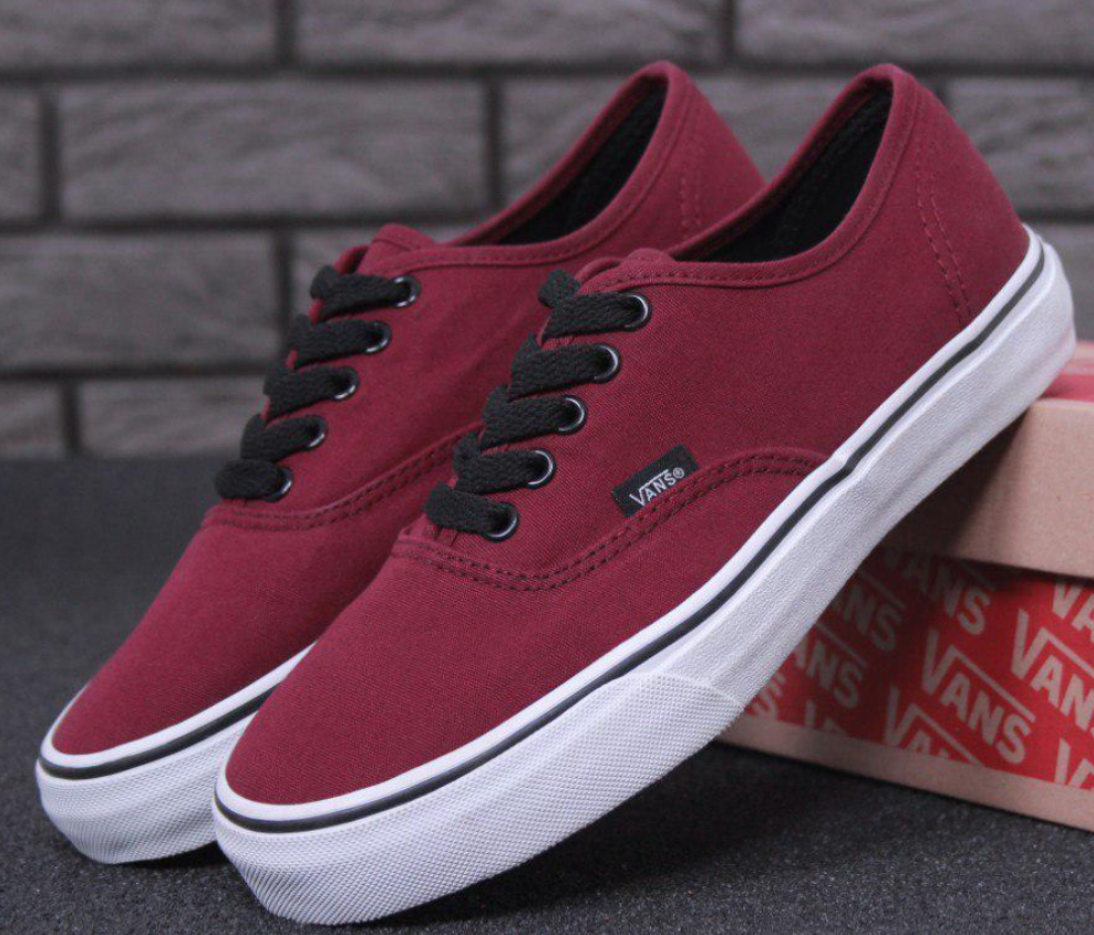 Кеды Vans Authentic Bordo 6a4971e3d7fd9