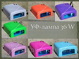 УФ-Лампа для наращивания ногтей и покрытия гель-лаком 36 W
