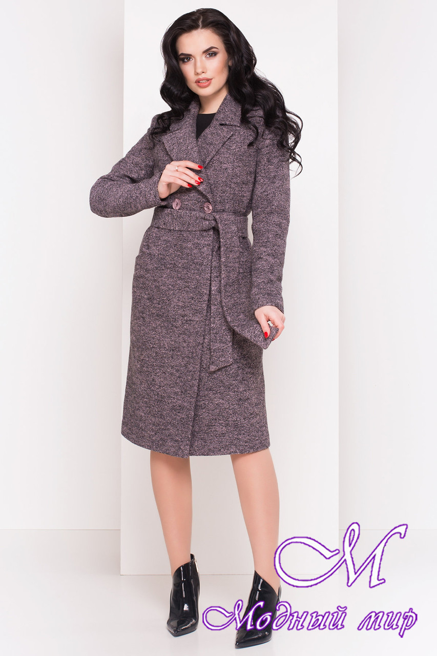 """Женское демисезонное шерстяное пальто (р. XS, S, M, L, XL) арт. """"Джулс 4450"""" - 21969"""