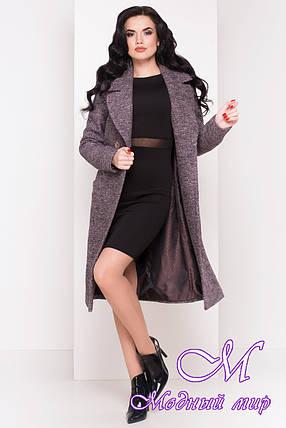 """Женское демисезонное шерстяное пальто (р. XS, S, M, L, XL) арт. """"Джулс 4450"""" - 21969, фото 2"""