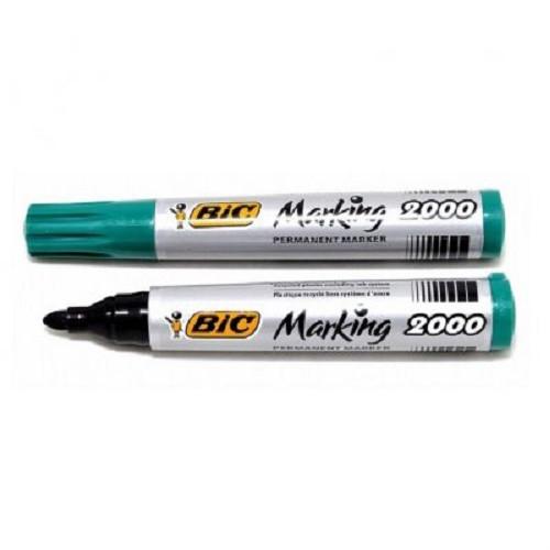 Маркер Bic Marking Pemanent 2000 зелёный