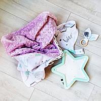 """Подарочный набор для новорожденного, на крещение, подарок на год """"Лея"""""""