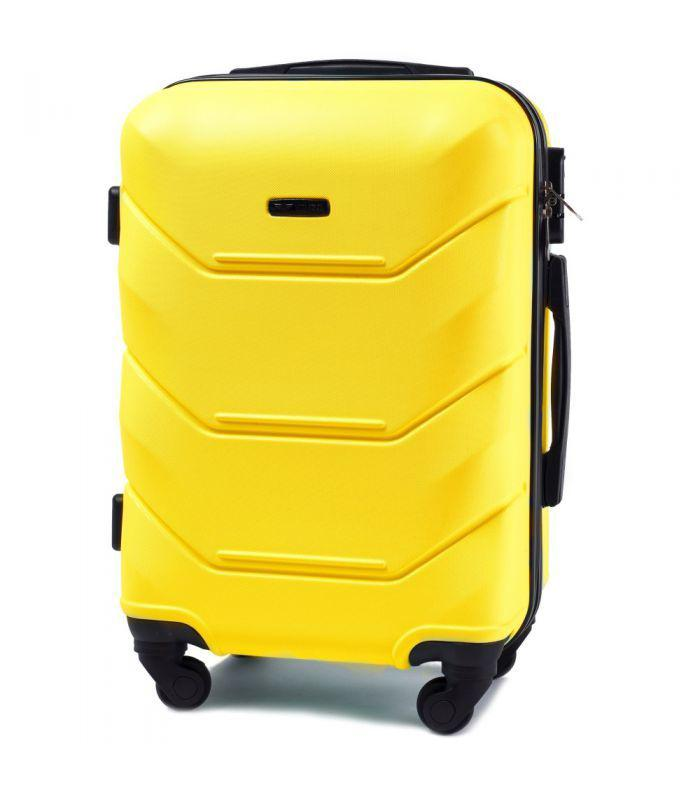 Чемодан Wings 147  L на 4 колесах желтый