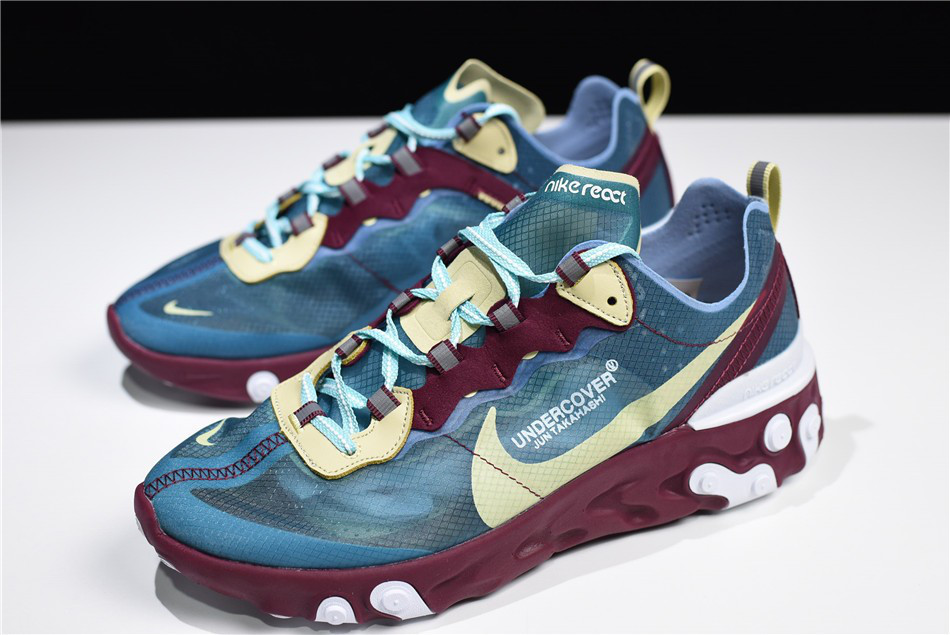 bb6be55aeed5 Мужские кроссовки Undercover x Nike React Element 87 (реплика) -  Интернет-магазин вещей