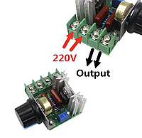 Регулятор мощности AC 2000Вт 220В диммер, фото 1