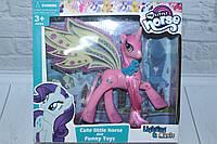 Пони музыкальное, шарнир, с крыльями, в коробке, фото 1