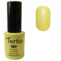 Гель-лак Tertio №154 бледно-желтый 10 мл