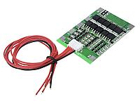 Контроллер заряда модуль защиты Li-Ion 18650 4S 30A