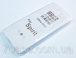 Чехол для LG Spirit h422 y70 силиконовый ультратонкий прозрачный