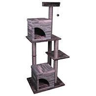 Flamingo Villa Scratch Pole 2 ФЛАМИНГО, домик когтеточка для кошек