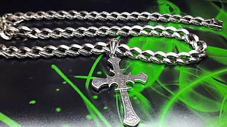 Ажурный серебряный крест