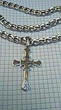 Ажурний срібний хрест, фото 4