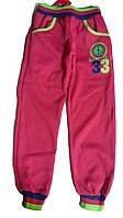 Штаны для девочки утепленные,спортивные  Glass bear, размеры 134. арт. G 6111