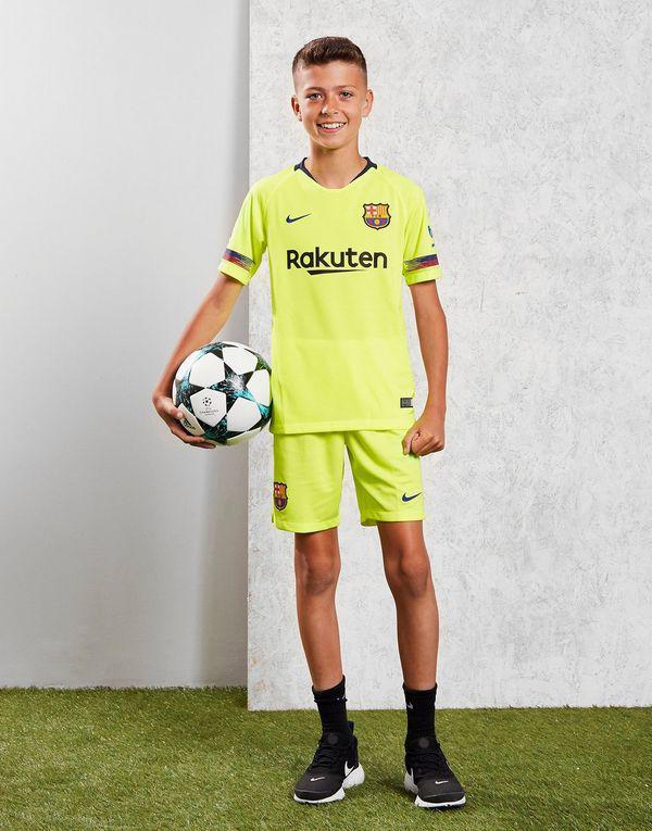 Детская футбольная форма Барселона, выездная, сезон 2018/19
