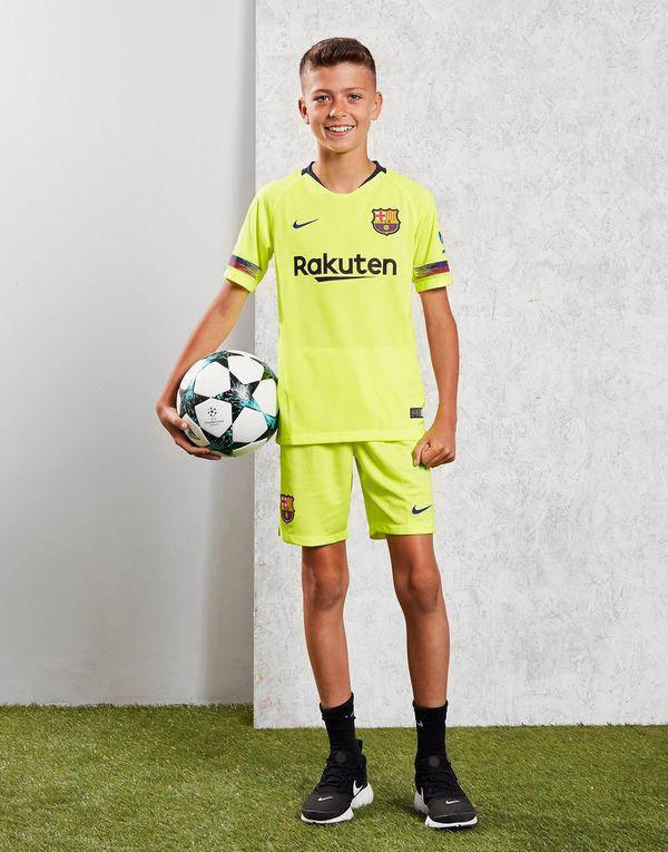 Детская футбольная форма Барселона, выездная, сезон 2018 19  продажа ... 08dd11bcf25